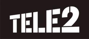 Логотип оператора сотовой связи Теле2