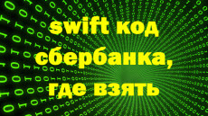 SWIFT код Сбербанка