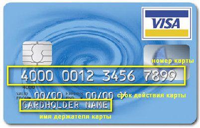 Код безопасности на карте VISA от Сбербанка
