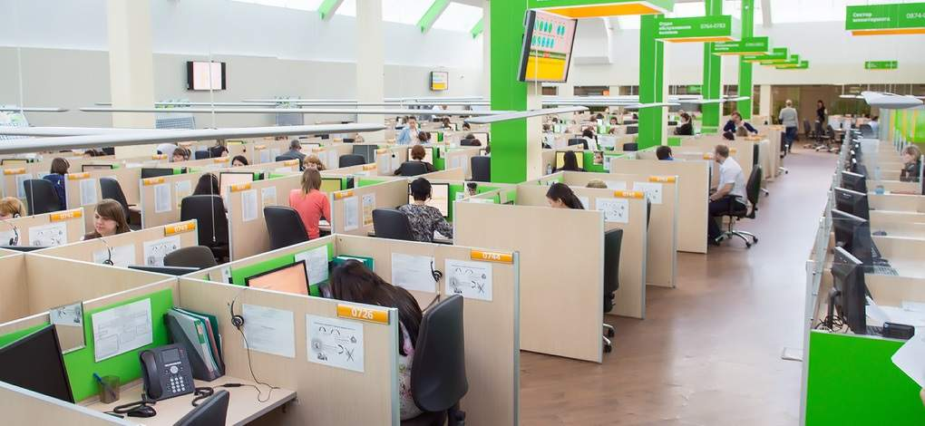 Рабочее место оператора колл-центра