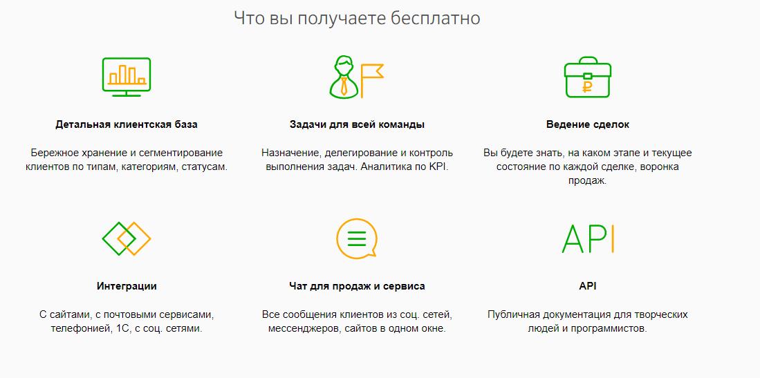 Бесплатная CRM-система от Сбербанка