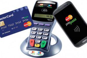 Оплата при помощи карты MasterCard PayPass