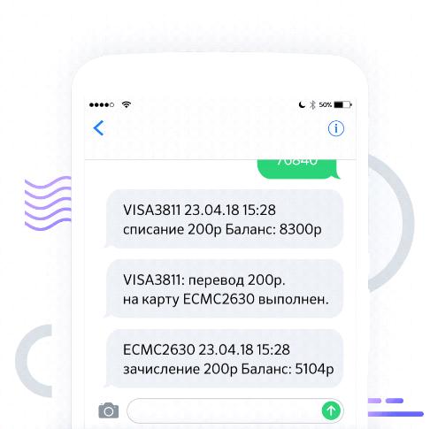 Перевод денег по СМС в Сбербанке