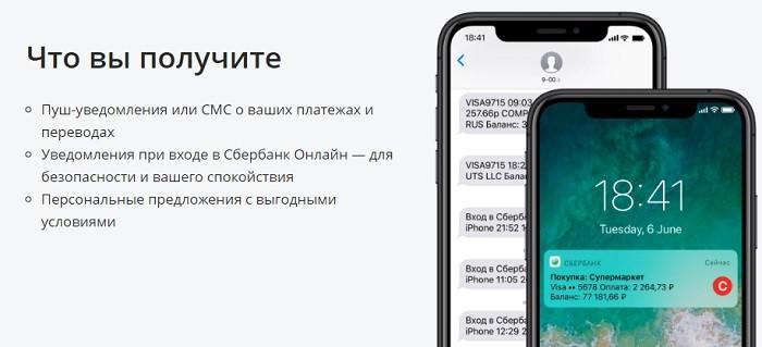 Стоимость мобильного банка Сбербанка